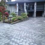 front driveway interlocking brick